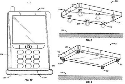 Amazon Design Smartphone Airbag