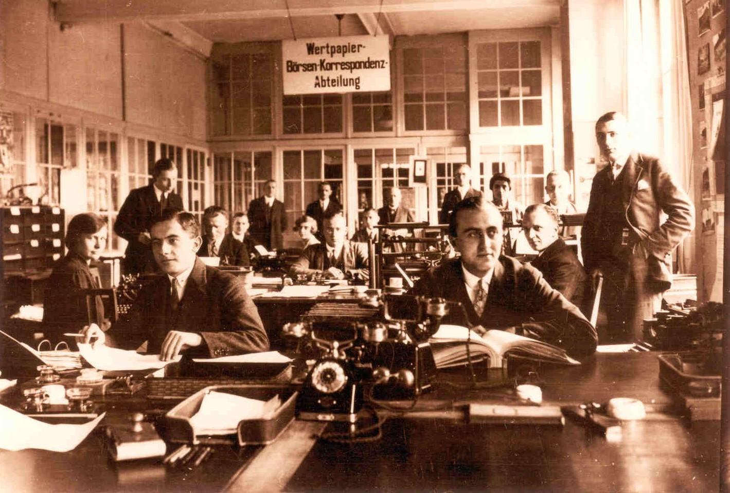 Wertpapier-Abteilung-Commerzbank