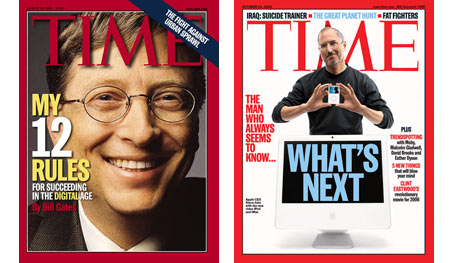 bill gates time magazine cover 90