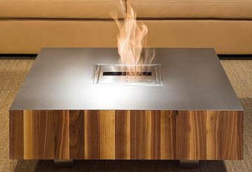 Design Feuer Tisch