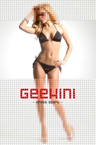 designer bikini schwarz