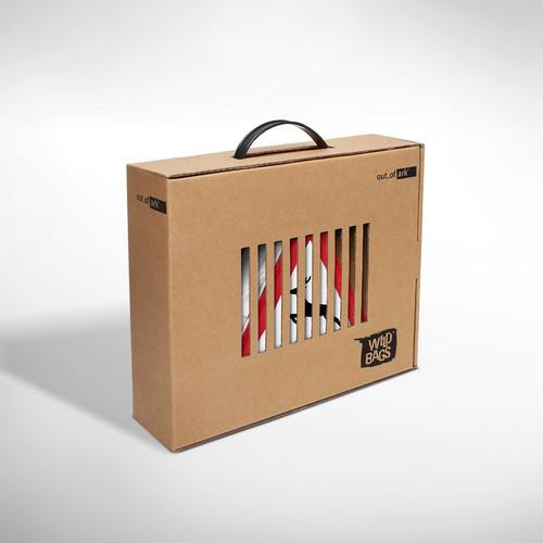 Designertasche Verpackung - umweltfreundlich und auffällig