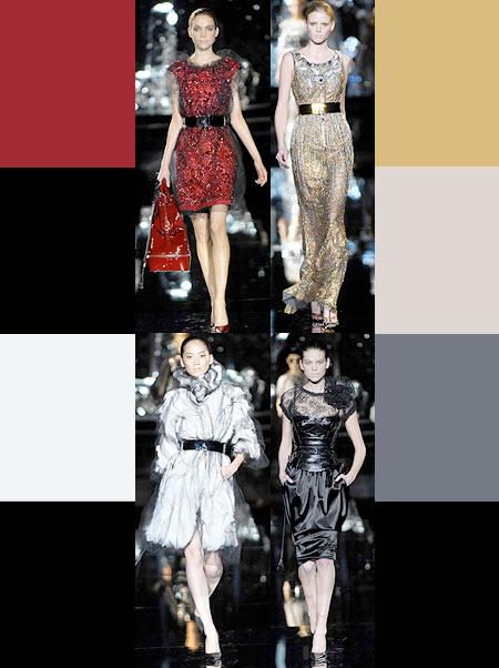 Farben dolce gabbana winterkollektion 2007