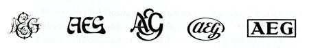 Logo Geschichte AEG