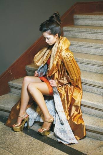 Modedesign Diplomarbeit zum Thema Venedig