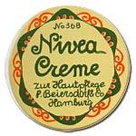 Nivea Logo Verpackung Design - Jahr 1991