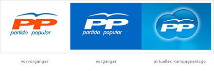 Partei Logo im Web 2.0 Look