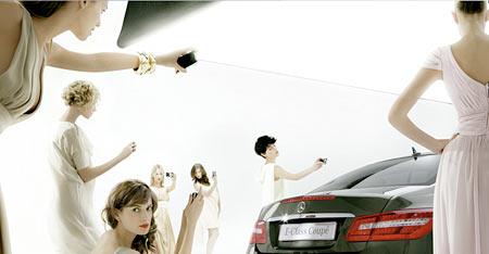 Models und die E-Klasse