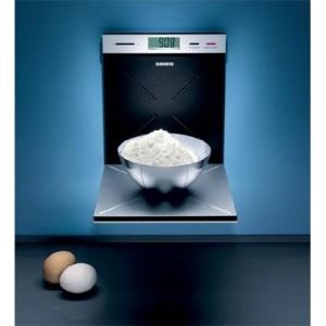 Küchenwaage im Porsche Design