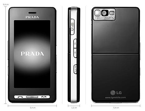 Handy Prada phone by LG