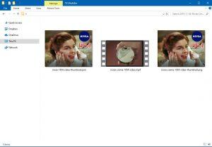 PSD-Datei Vorschau in Windows 10 Explorer