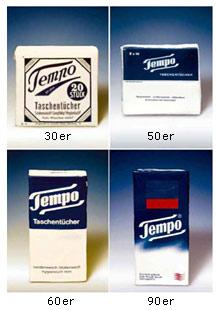 Tempo Verackungen und Logo Design