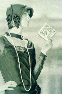 Tempo Taschentuch Werbung aus dem Jahr 1929