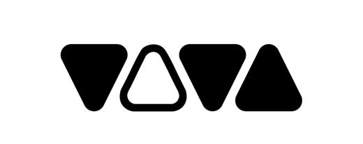 Das alte VIVA Logo in Jahren 1993 - 2010